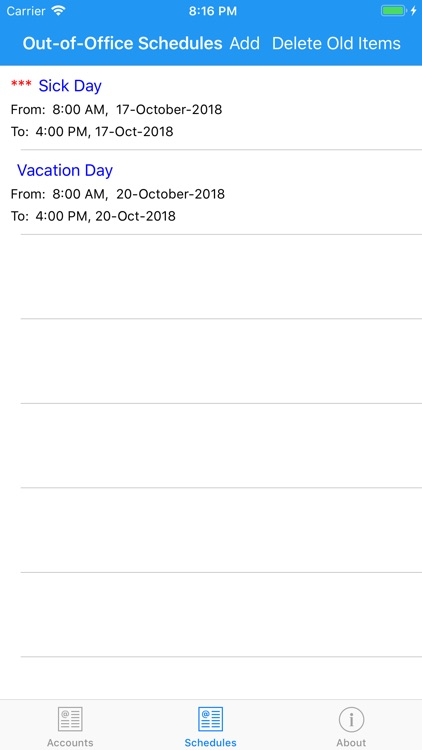Out-of-Office-Exchange Online screenshot-6