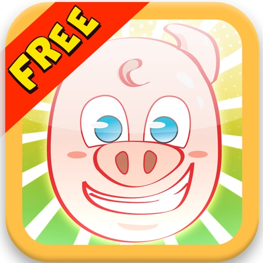 Pig Hay Run: Another Fun Day On The Farm - Free Game Icon