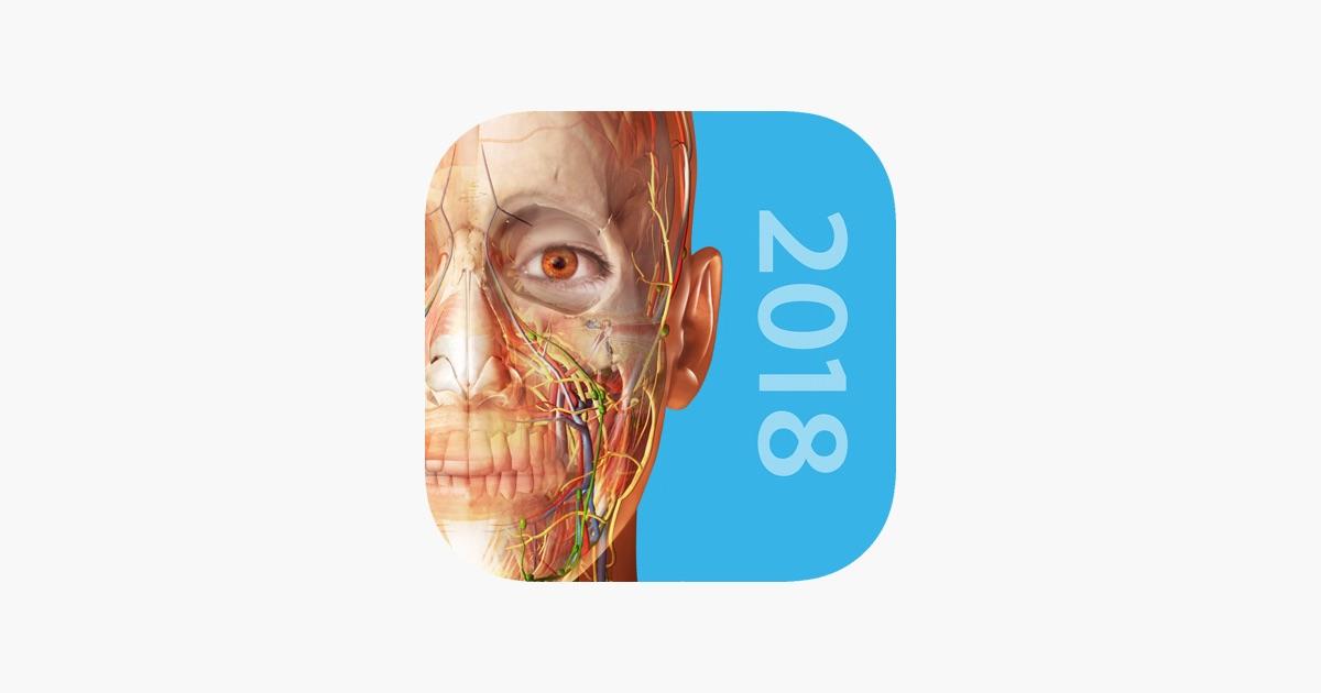Atlas de anatomía humana 2018 en App Store