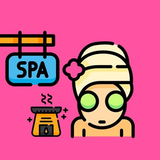 Spamoji - Spa Wellness Sticker