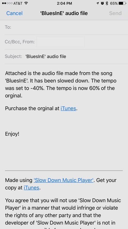Slow Down Music Player screenshot-4