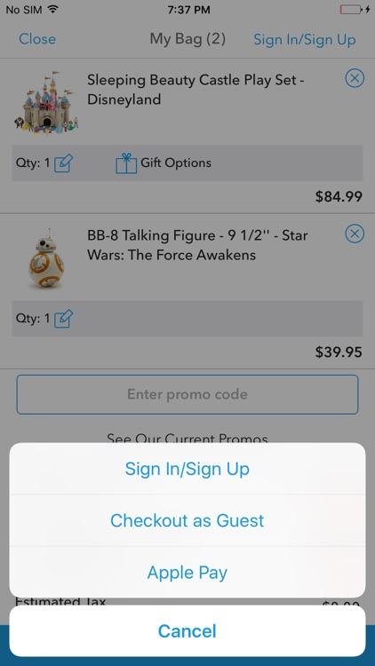 Shop Disney screenshot-4