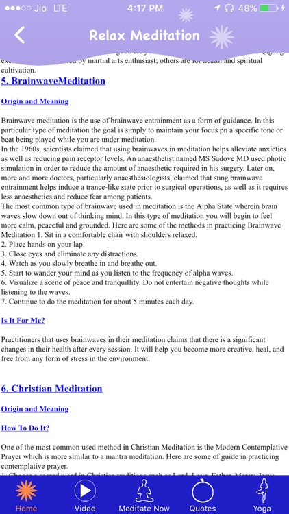 Relax Meditation screenshot-2