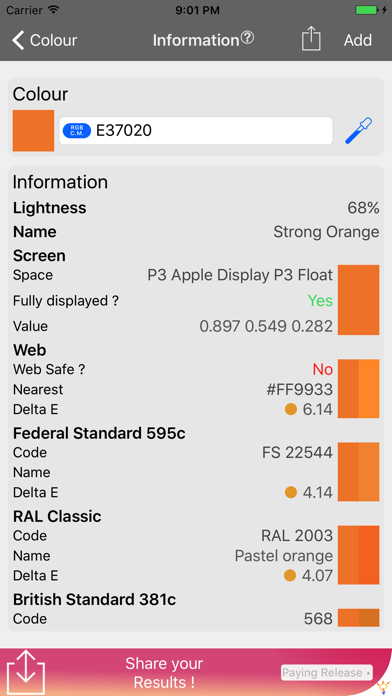 iColorKit Light screenshot three