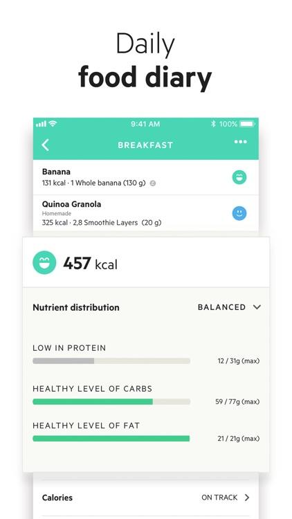 Lifesum: Diet & Macro Tracker screenshot-7