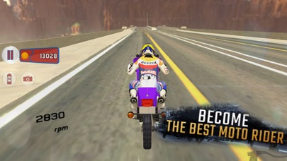 Extreme Motorbike SIM 3D screenshot three