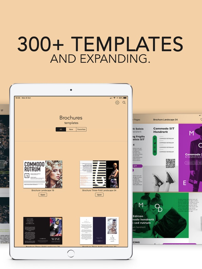 Brochures Templates For Pages On The App Store