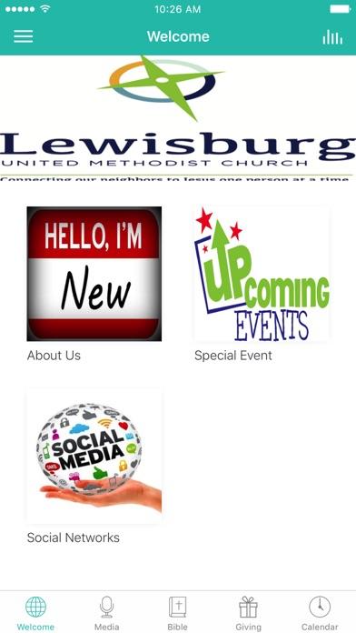 Lewisburg U.M.C. screenshot 1
