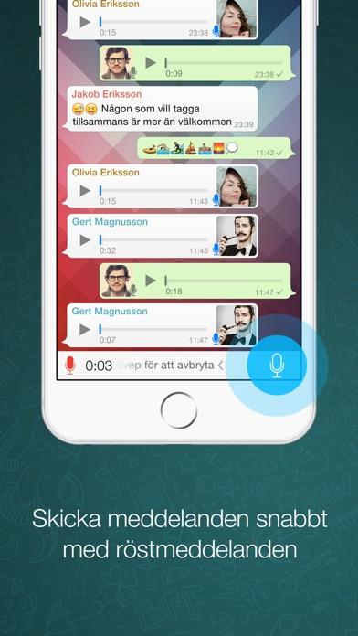Screenshot for WhatsApp Messenger in Sweden App Store