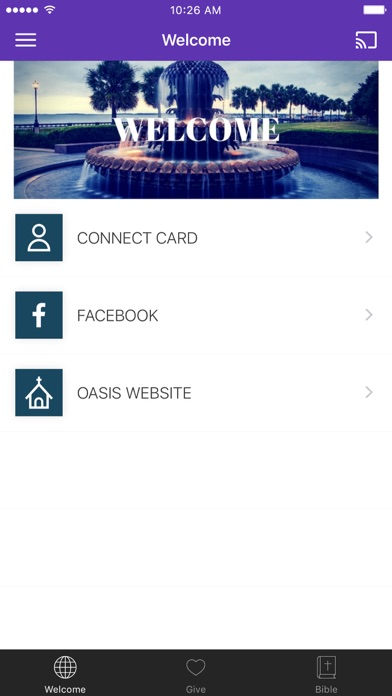 Oasis Church SC screenshot 1