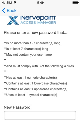 Access Manager - náhled