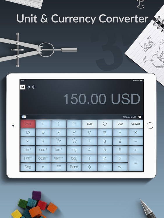 Calculator Pro+ for iPad screenshot-4