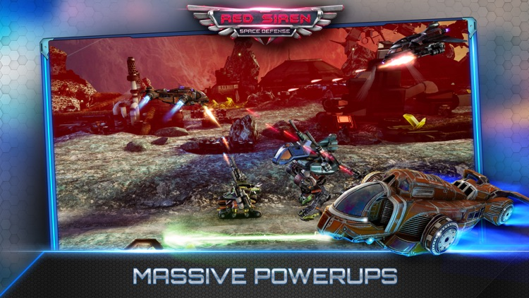 Red Siren: Space Defense screenshot-3