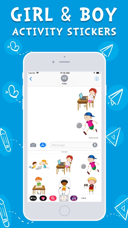 Girl & Boy Activity Stickers screenshot-3