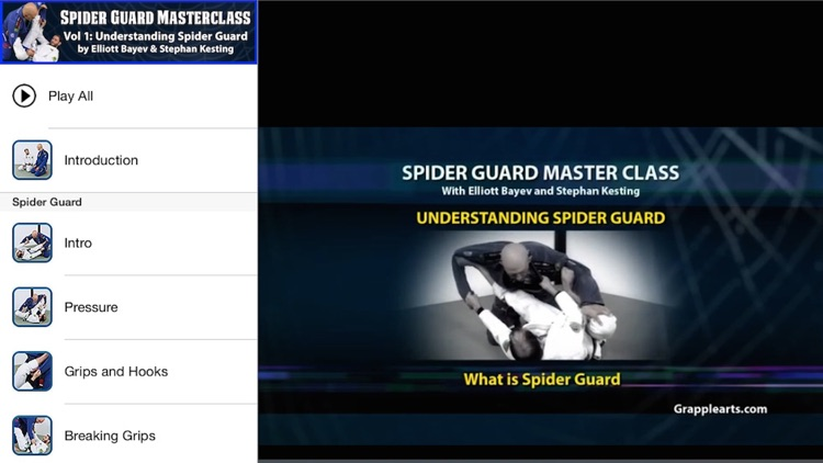 BJJ Spider Guard Vol 1 screenshot-0