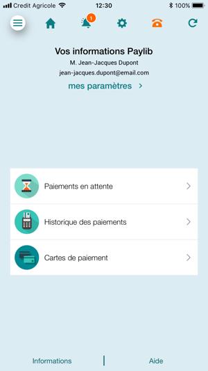 Ma carte ca on the app store - Augmenter plafond carte bancaire credit agricole ...