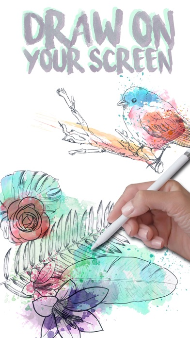 Doodle on the screen – color and draw on pictures-0