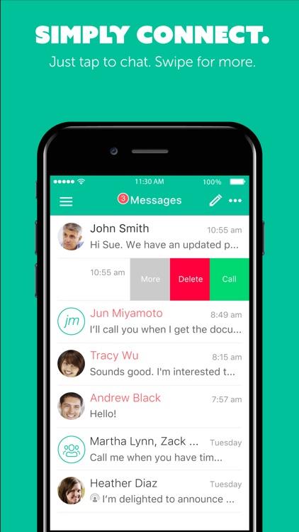 Unified Communicator Mobile screenshot-4