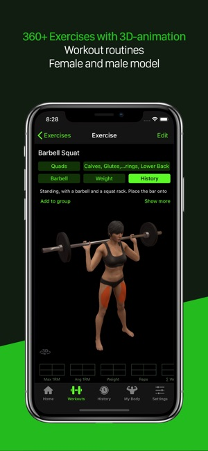 Gymaholic Workout Tracker on the App Store