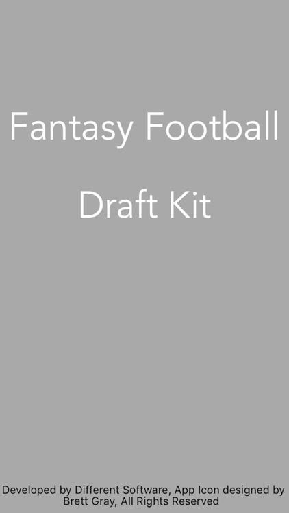 Fantasy Football Draft Calculator