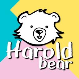 Harold Bear Sticker Pack