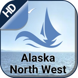 ALASKA NORTH WEST nautical offline boating charts