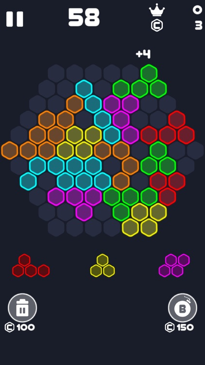 Neon Block Puzzle : Fill Board screenshot-4