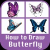 How to draw Butterfly New 2017