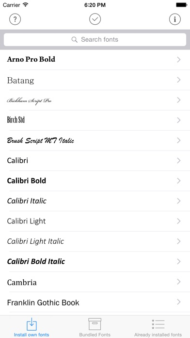 download AnyFont apps 3
