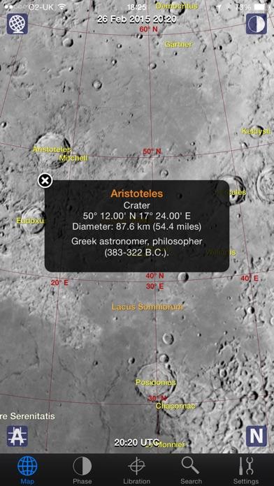 Moon Atlas review screenshots