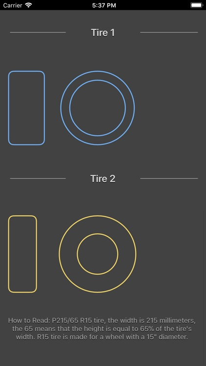 Tire Size Calculator Plus screenshot-6