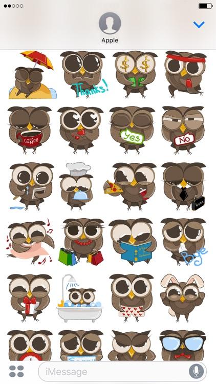 Cute Owls - Funny Owls