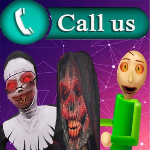call evil nun and granny baldi iOS App