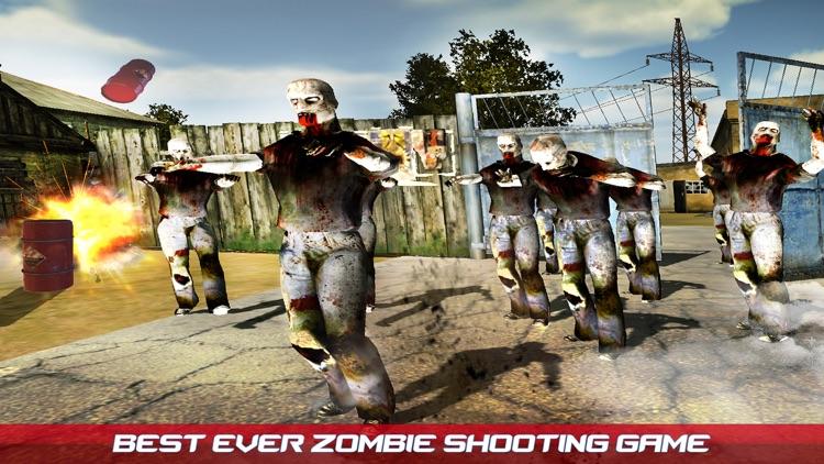 Dead Zombie Shooting Game screenshot-3