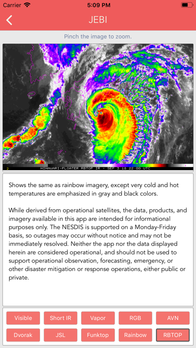 Typhoon Tracker (台風 태풍 台风) screenshot 4