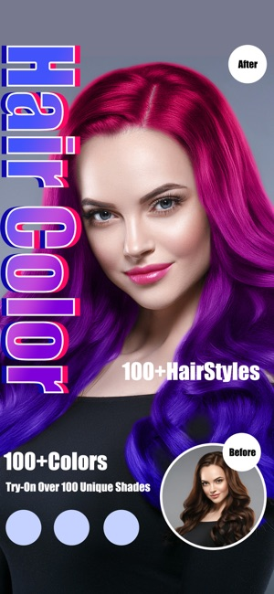 Hair Color Dye - Hairstyle DIY im App Store