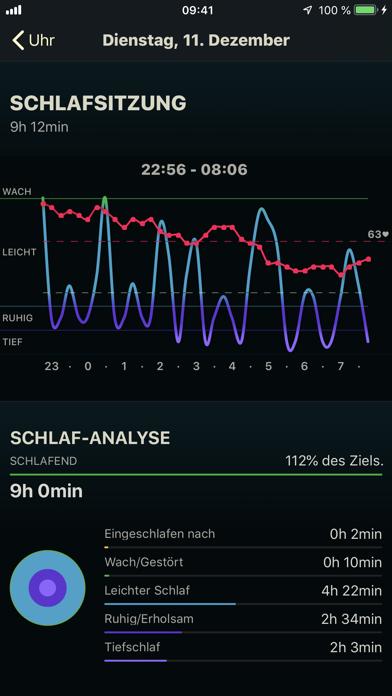 Screenshot for AutoSleep Schlaftracker in Switzerland App Store