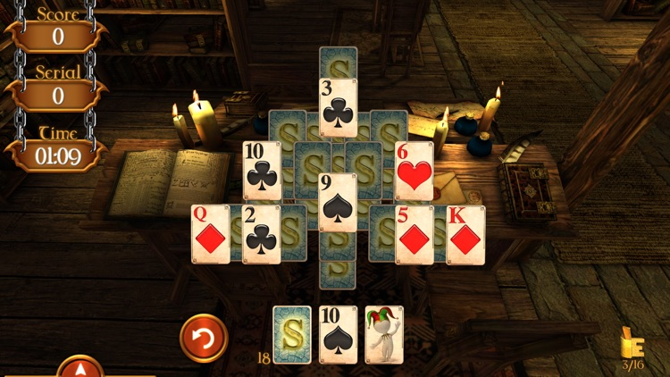 Solitaire Dungeon Escape screenshot-3