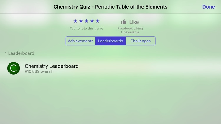 Chemistry Periodic Table of Elements Quiz (No Ads) screenshot-4