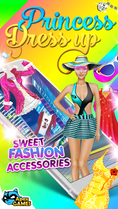 Dress Up City Fashion Games screenshot one