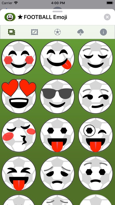 Football Emoji • Stickers screenshot 2