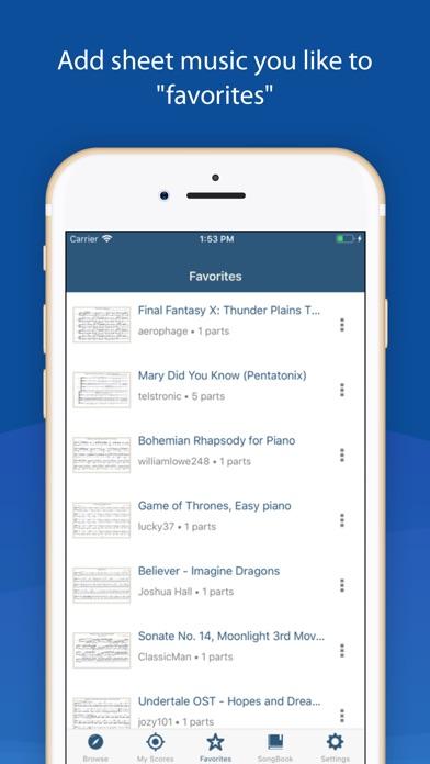 MuseScore: sheet music screenshot1