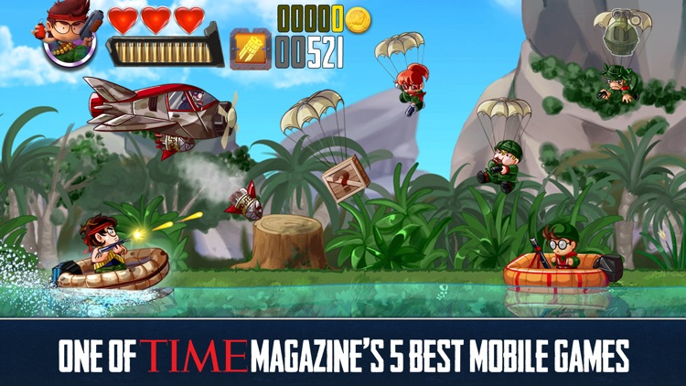 RAMBOAT - Shooter and Runner screenshot-0