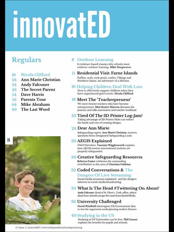 innovatED Magazine screenshot 9