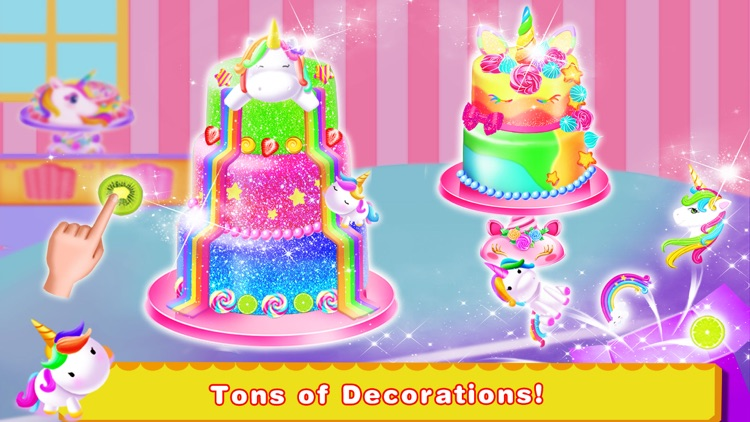 Unicorn Food-Cake Bakery Games screenshot-3