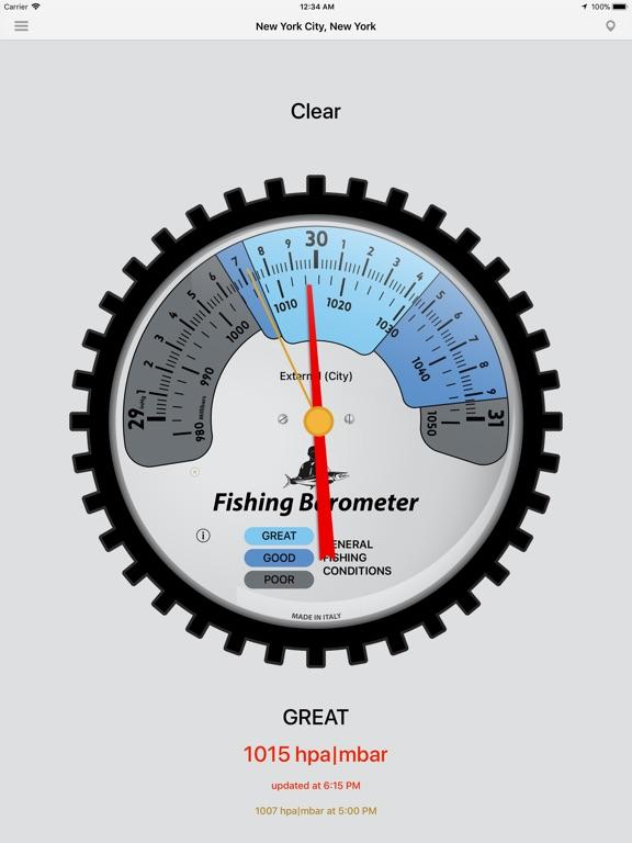 Fishing Barometer screenshot 6
