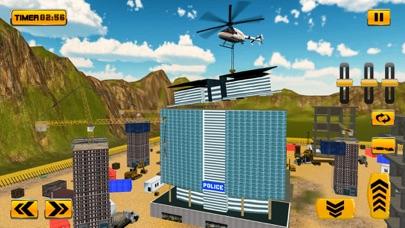 Police Station Builder Game screenshot one