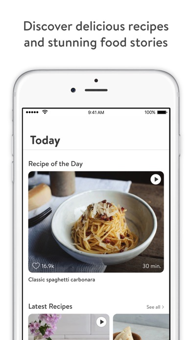 Kitchen stories recipes and cooking app for iphone ipad and apple kitchen stories app is the winner of apple design awards 2017 forumfinder Image collections