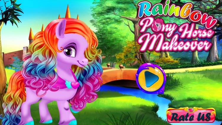 Rainbow Pony Horse Makeover screenshot-4