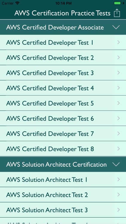 AWS Certification Practice
